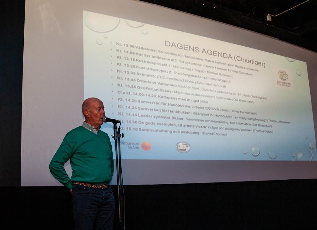 Kustrådet från Maria väg Yngsjö, Michael Grennard, berättar om jobbet mot brunifiering och samarbetet med Ryssby Gymnasium.