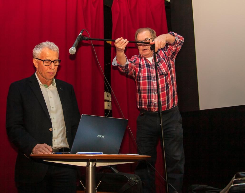 Sven-Olof Bernhoff, VD Skånefrö, berättar om företagets miljöarbete, bla biokol
