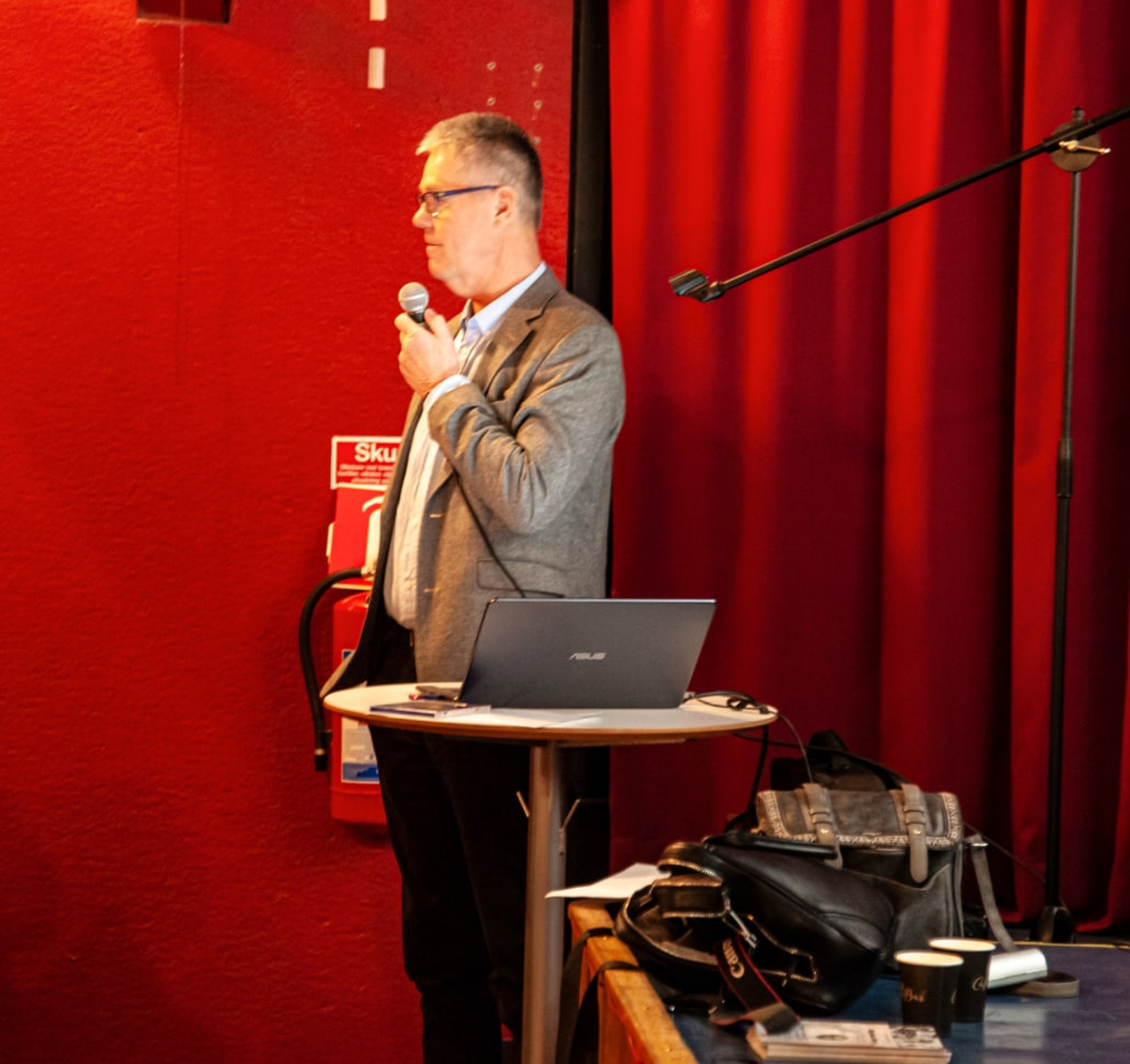 Thomas Johnsson berättar om Affärsplan Hanöbukten. Kan man ha en affärsplan för miljön?