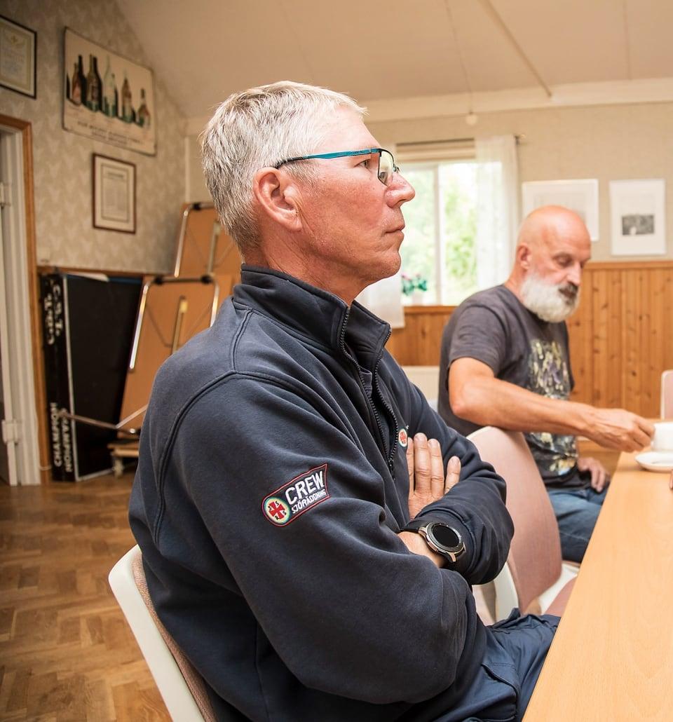 Håkan Hjelm Kivik och Lars Olin Landön