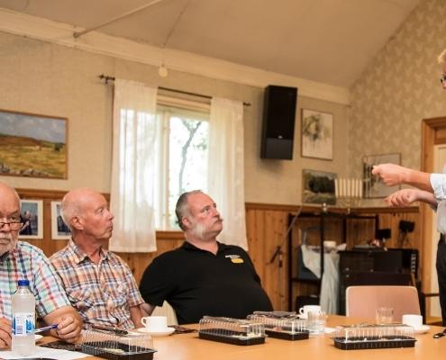 Kustrådsmötet-i-Tosteberga-8-augusti-2019 Niklas Martinsson Vitemölla, Michael Grennard Marias väg Yngsjö, Dafvid Hermansson SfH, Thomas Johnsson SfH